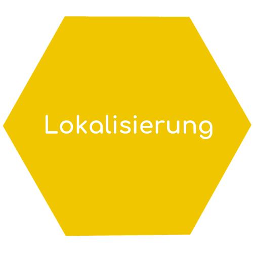 Lokalisierung hexagon