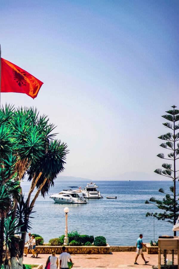 Bucht in Albanien