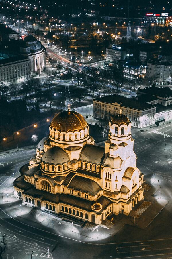 Alexander Newski Kathedrale in Bulgarien