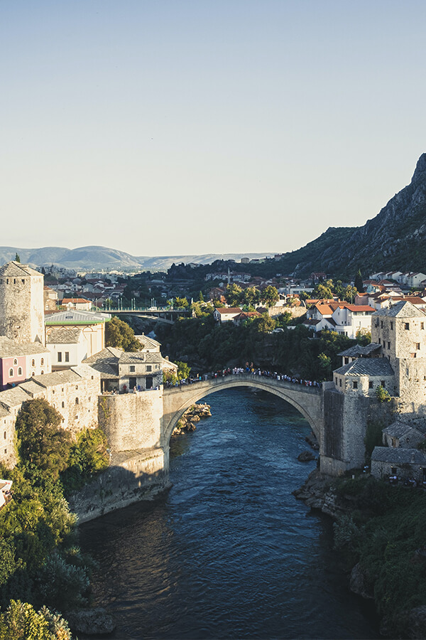 Mostar in Bosnien Herzigovina