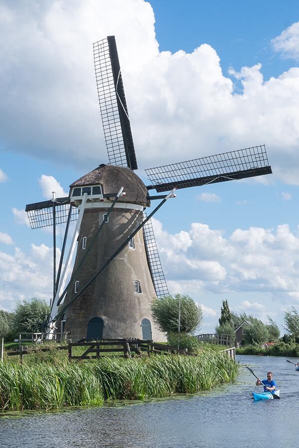 Windmühle in Haastrecht, Niederlande