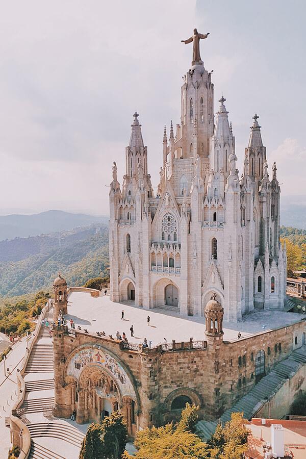 Die Kirche Sagrat Cor in Barcelona, Spanien